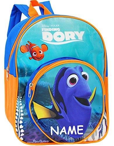 """Kinder Rucksack - """" Disney - Findet Nemo / Fisch Dory """" - Tasche - wasserfest & beschichtet - Kinderrucksack / groß Kind - Mädchen - Jungen - z.B. für Kindergarten / Vorschule / Schule - Mädchenrucksa"""