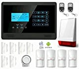 LKM security M2EPLUS Kit Antifurto Allarme Casa Wireless,...