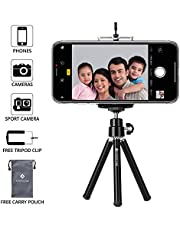 Everycom Mini Tripod with Mount Compatible with All Mobile Phones and Digital Camera