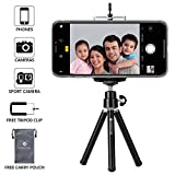 #5: Everycom Black Lightweight 20 CM Mini Tripod With Phone Mount