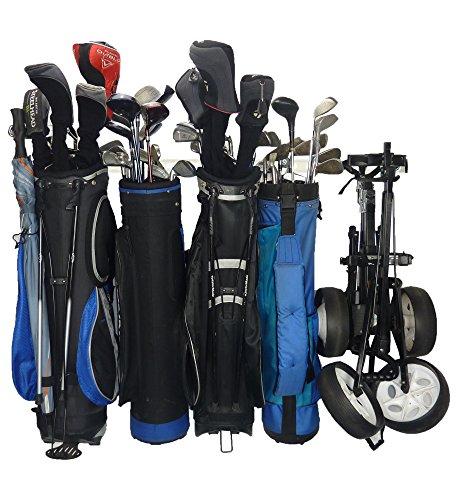GearHooks Golf Tasche Organizer Passend für 5Golf Tasche Speicherung und Golf Zubehör | Golf Speicherung und Golf Equipment Aufbewahrung (GR5), Weiß (Modulare Büro-möbel)