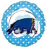 Disney Anagram Winnie The Pooh Folien-Ballon mit I-Aah, 46 cm (46 cm) (Blau)