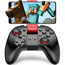 BEBONCOOL Wireless Game Controller Android Controller Handy Gamepad mit Clip Handy Controller für Android Phone/Tablet/TV Box/VR/Emulator