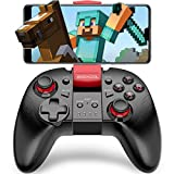 BEBONCOOL Manette Android, Manette Bluetooth Android avec Support pour Smartphone Android/Tablette/ TV Box/Gear VR/Emulateur