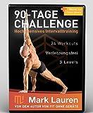 Mark Lauren's Fit ohne Geräte | 90-Tage Challenge | Bodyweight Training 8 DVD Set (German Version) [DVD]