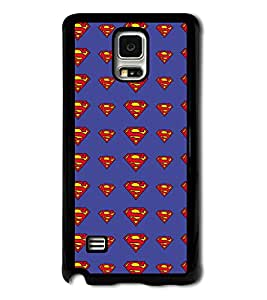 Go Yankee superman logo on blue back Cover For Samsung Galaxy S5