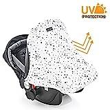Babyschale Sonnenschutz Universal - Sonnenverdeck mit UV-Schutz aus Baumwolle sorgt für einen optimalen Schutz vor Sonneneinstrahlung