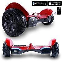 """Cool&Fun 8.5""""Scooter Patinete del mano Eléctrico Bluetooth APP self balancing de Shop Gyrogeek (Rojo)"""