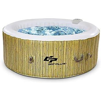 GOPLUS SPA Whirlpool Badewanne Massagepool Heizfunktion In
