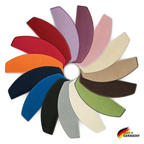 Stufenmatten Vorwerk Uni Rainbow - 15er SparSet - Hier hat jede Stufe ihre eigene Farbe