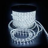 SPEED 50Meter LED Lichterschlauch Lichterkette Schlauch