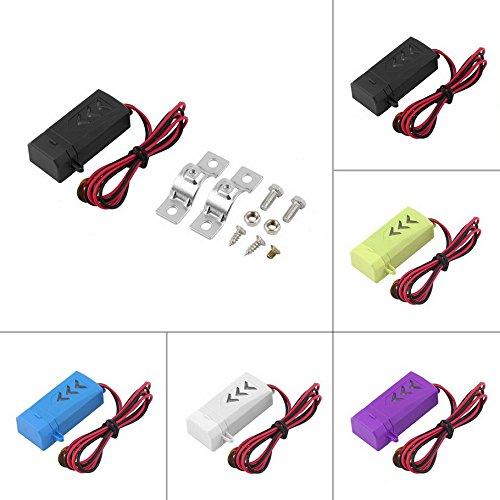 Achievess (TM) New antipolvere portatile Caricabatteria da auto 12V a 5V 1A USB per auto cellulare caricabatterie Hot vendita - Nuovo Dodge Caricabatterie