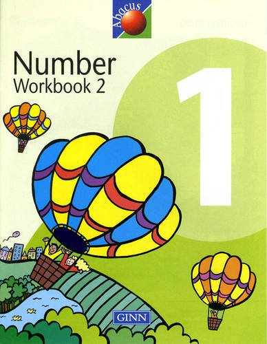 Number Workbook 2: Year 1, Part 2, set de 8 (New Abacus (1999))