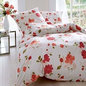 kaeppel parure de lit avec housse de couette et oreiller en tissu seersucker fermeture clair. Black Bedroom Furniture Sets. Home Design Ideas