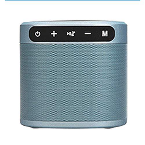 TSSM Handy drahtlose Aufladung Bluetooth-Lautsprecher Mini tragbare 2-in-1-Stereoanlage in Dual-Treiber-Lautsprecher Freisprech-Mikrofon zu Hause und im Büro gebaut (Mixed-akkus)