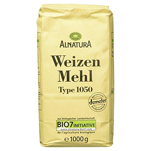 Alnatura Bio Mehl Weizen Typ 1050, 1.00 kg