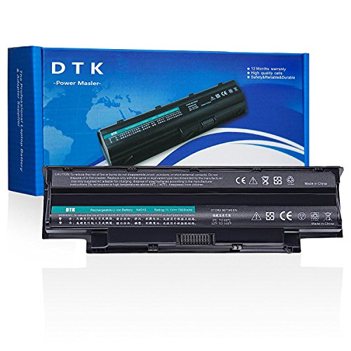 Dtk Notebook Laptop Battery for Dell Inspiron 3420 3520 13r 14r 15r 17r-N7110 17r-N7010 N3010 N3110 N4010 N4050 N4110 N5110 N5010 N5030 N5040 N5050 M5110 M5010 M4110 M501,P/N J1knd 4t7jn [9-cell 6600mah]