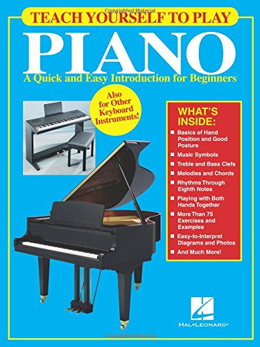 Teach yourself to play piano piano