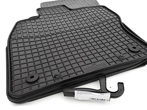 kh Teile 22210 Gummimatten Original Qualität Gummi Fußmatten 4-teilig schwarz (Skoda Octavia Teile)