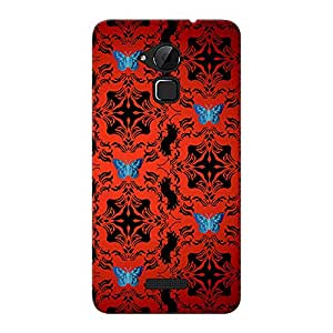 INKIF Warrior Abstract Designer Case Printed Mobile Back Cover for CoolPad Note 3 (Red)