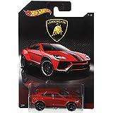Hot Wheels Lamborghini Toy Car Urus Metallic Red