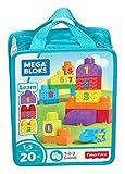 Mega Bloks Sac de Blocs Emotions, briques et jeu de construction, 20 pièces, jouet...