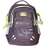 Good Win Stylish Laptop Backpack-0998232-Purple