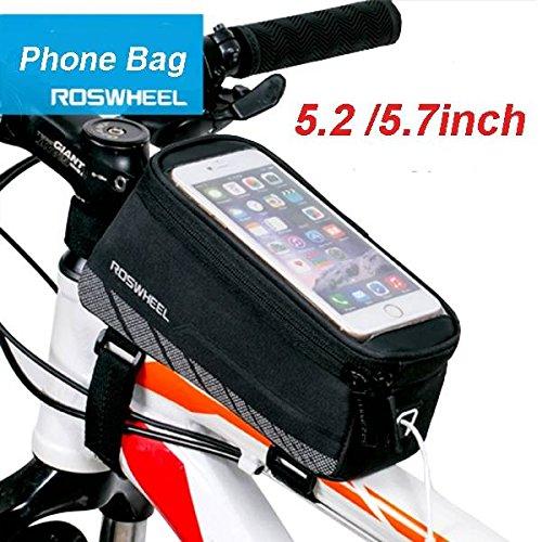 Bazaar Roswheel 5.2 della cassa del sacchetto del tubo telaio della bicicletta telefono touchscreen