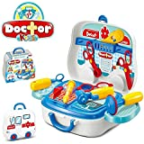 Toykart- FRA- Doctor Play Set With Wheels , Pretend Play Set , Doctor Play Set For Kids , Premium Quality , Toys Great For Role Play