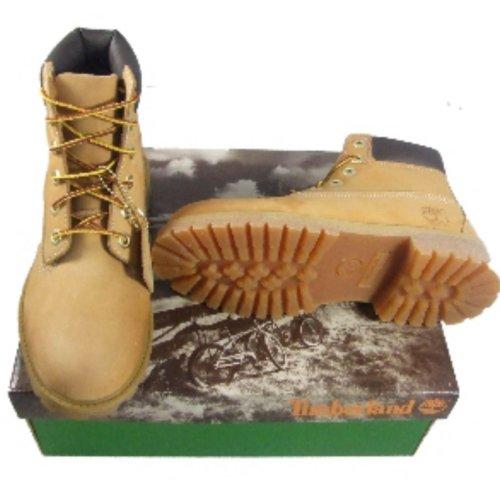 Timberland Garçons Scramble Chukka Hiker Bottes en cuir - Marron Wheat