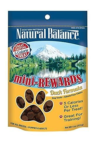Natural Balance Mini Rewards Duck Formula Semi-Moist Dog Training Treats 4oz