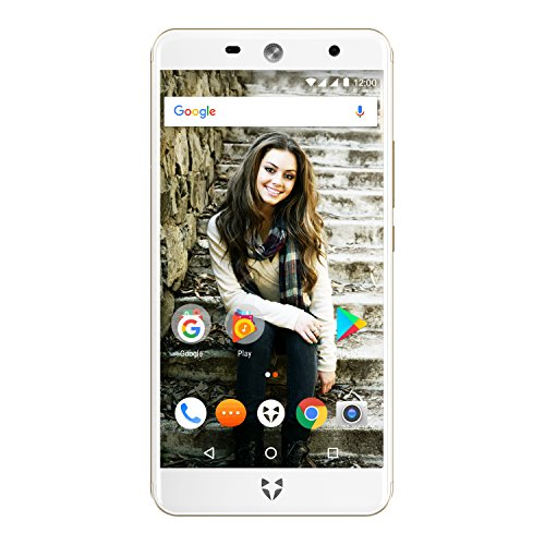 "Wileyfox Swift 2 16GB with 2GB RAM 5.0"" HD (Dual SIM 4G) SIM-Free Smartphone Android Nougat 7.1.2 - Gold"