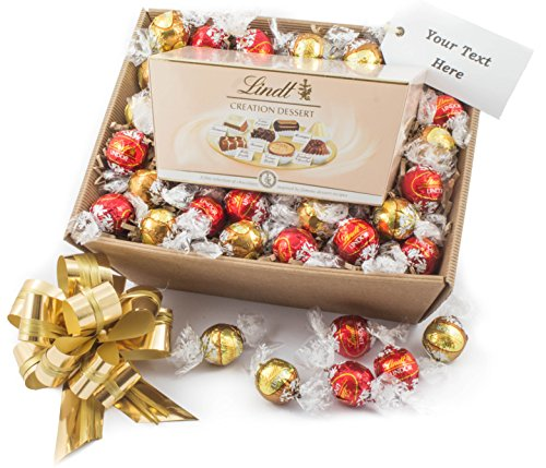 Lindt Chocolate Gift Hamper - Lindt Creation Dessert with Lindor Chocolates