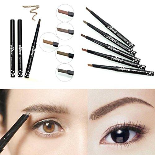 venmo-rotary-brake-flat-waterproof-eyebrow-pencil-long-lasting-eye-brow-make-up-pen-middle-brown
