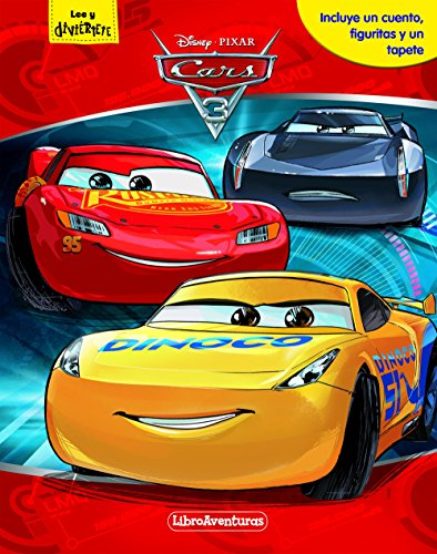 Cars 3. Libroaventuras: Incluye un cuento, figuritas y un tapete (Disney. Cars 3)