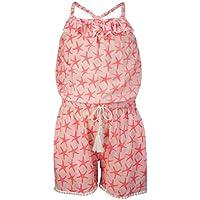Snapper Rock Chica Jumpsuit, Todo el Año, para Niñas, Niñas, Color Estrella de Mar, Tamaño 104-110cm/4-5 Jahre
