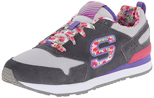 Skechers Retrospect Floral Fancies, Baskets Basses Fille