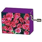 Fridolin - 58093 - Boîte à musique - Bouquet de roses - Beethoven - Pour Elise