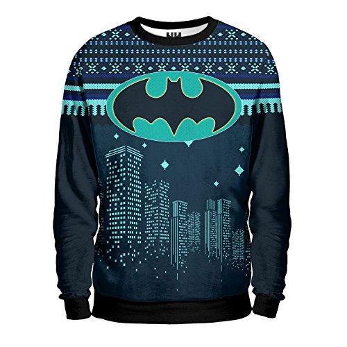 Felpa Uomo Uomo Christmas Batman Noorhero Noorhero Felpa Batman xv6w4PP
