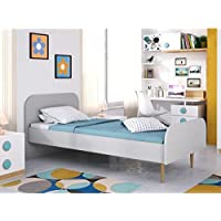 Movian Aveyron Modern - Base para cama individual, 195 x 100 x 80 cm (