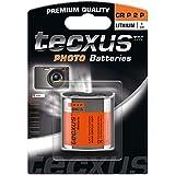 Wentronic CRP2 tecxus photo Litio 6V batería no-recargable - Pilas (Litio, Petaca, 6 V, 6V, 1400 mAh, Naranja, Plata)