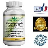 Magnesio marino-Vitamina B6-90 Cápsulas-Vitalidad-Efecto relajante -OFERTA Factura + Instrucciones de uso PDF- Magnesio 333MG efectivo para recuperar energía y una mejor forma, sin efectos secundarios