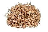 NaDeco Curly Moos Natur 500g | Curlymoos | Tillandsia Moos | Deko Moos | Bastelmoos | Dekomoos | Moos Zum Basteln | Naturdeko