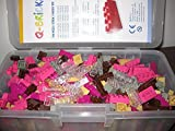 q-bricks speciale colori misti mattoncini Maxi custodia (750-piece), Modelli/Colori Assortiti, 1 Pezzo