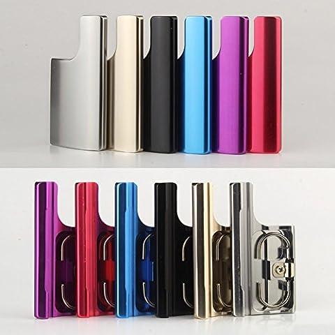 Revesun-Custodia impermeabile con fibbia a scatto, in alluminio, con serratura di ricambio per GoPro Hero 3, Hero 3 + Hero 4 fotocamera, colore: rosso