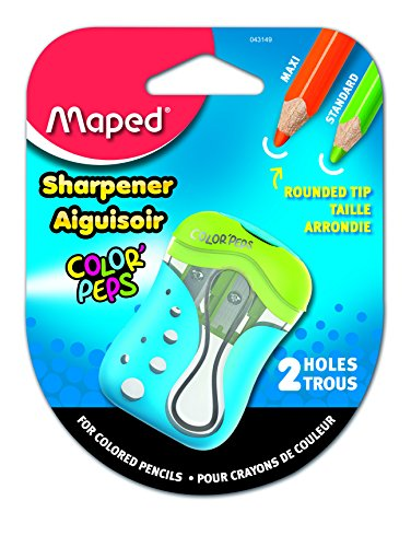 Maped Color'Peps 2 Hole Colored Pencil Sharpener (043149)