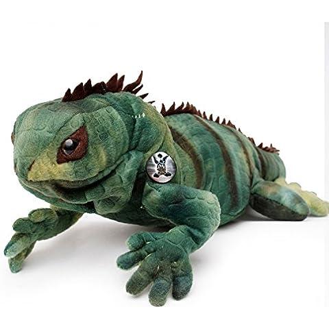Iguana iguana Grisu peluche peluche Iguana XXL 70cm di kuscheltiere. Biz