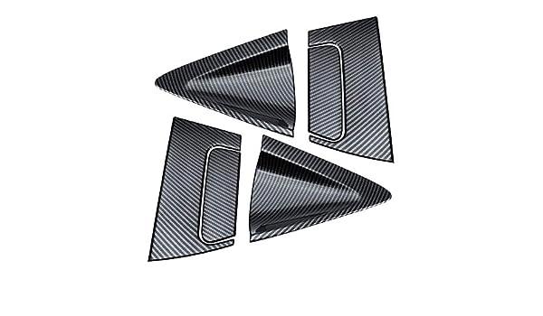 Assetto auto Misura for Honda misura for Vezel HRV HRV 2016-2018 Accessori auto 6pcs fibra di bicromato di potassio//Carbon Side sportello posteriore Maniglia ciotola copertura Le Trim