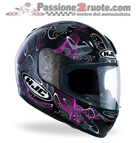 HJC Casque moto Noir/violet TailleS Référence191508S