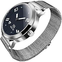 Lenovo Watch X Reloj Inteligente 80ATM Puntero Luminoso Impermeable Rastreador de la Aptitud Monitorización del sueño Frecuencia Cardíaca Inteligente Podómetro Llamadas de Calorías de la Vibración